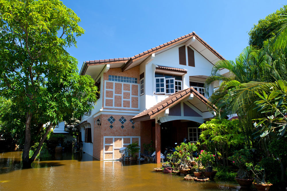 my house was flood Whoever has your house insurance will have flood maps available another way is to go to the fema website and find the map for your location.